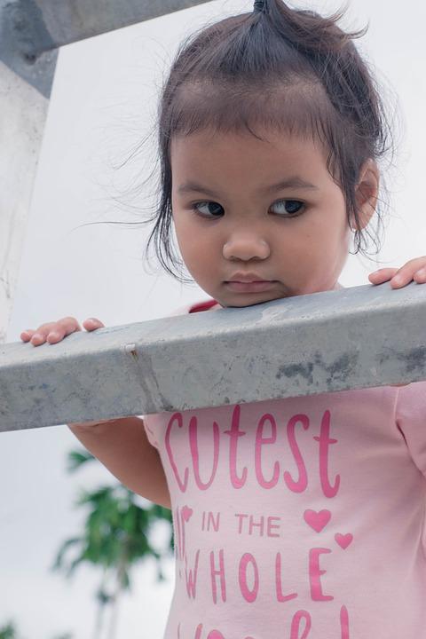 Kids, Leak, In Childhood, Human, Wood Fence, Outdoor