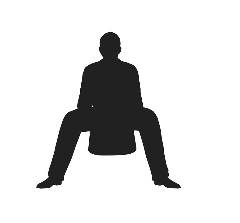 Sitting, In Seated Position, In Situ, Lotus, Sedentary