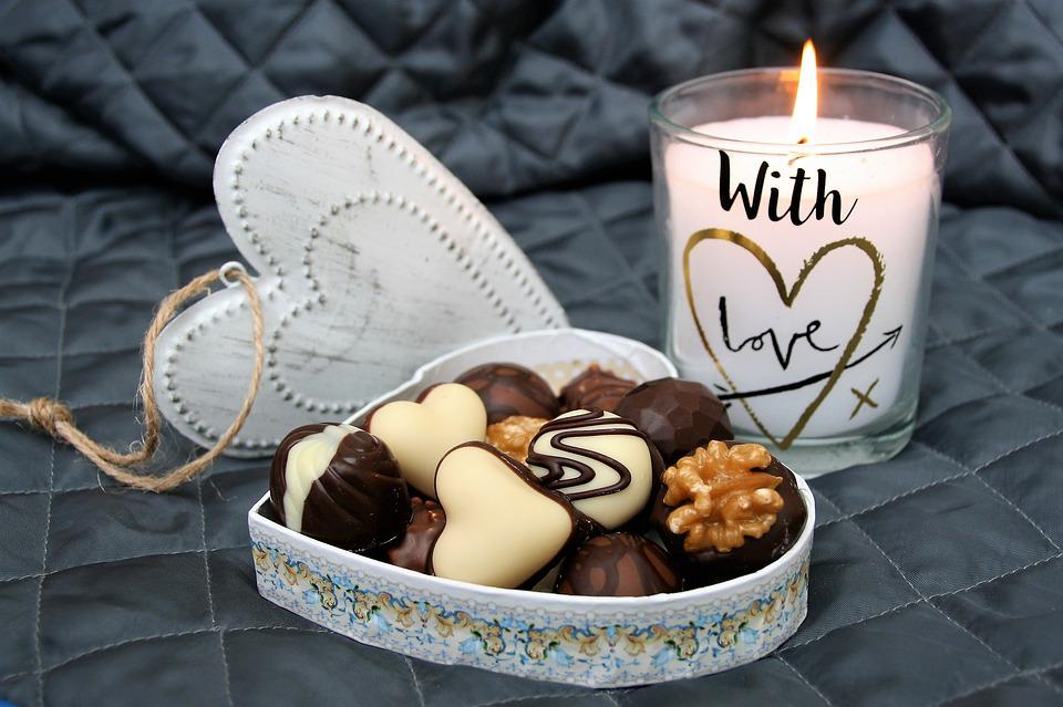 Heart, Candle, Love, In The Evening, Valentine's Day