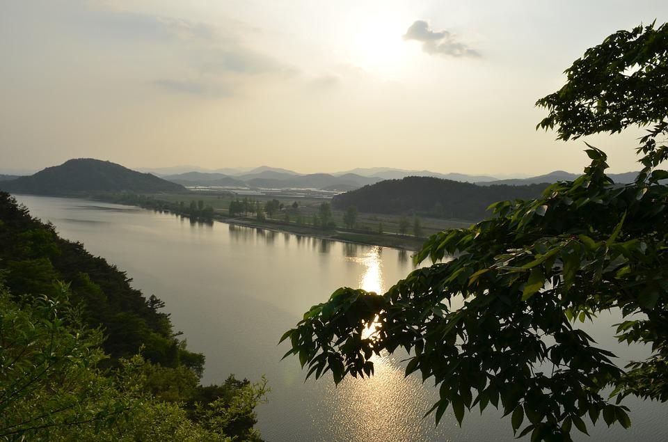Republic Of Korea, Nature, Scenery, In The Evening