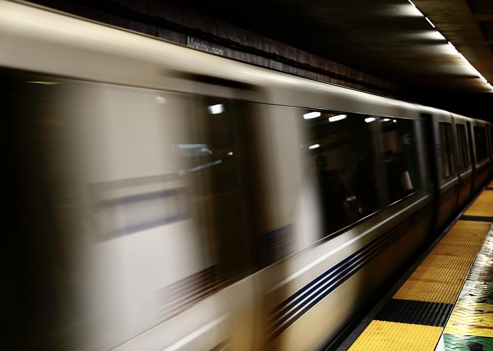 Train, Subway, Transportation, In Transit, Moving Train