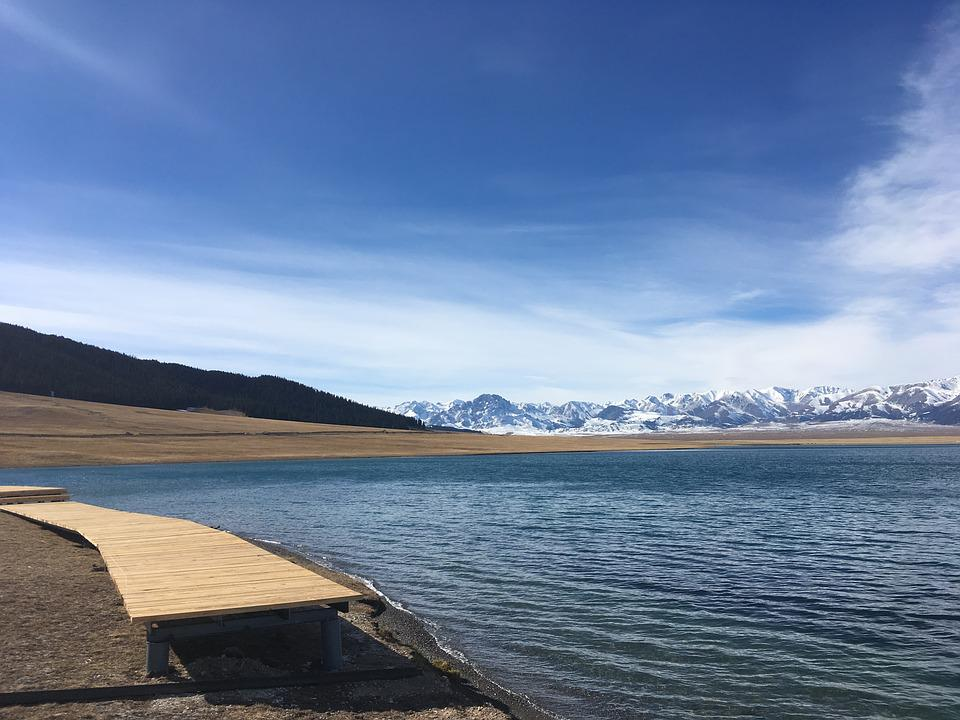 Serry Wood Lake, In Xinjiang, Yili
