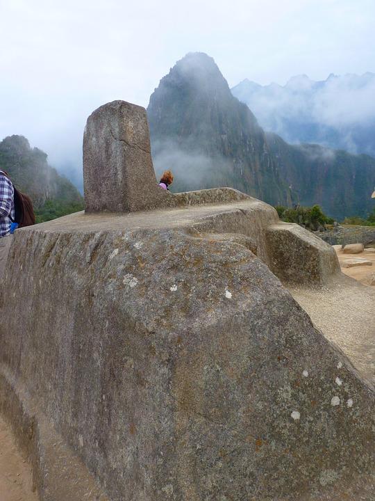 Machu Picchu, Intihuatana Sundial, Peru, Inca, Tourism