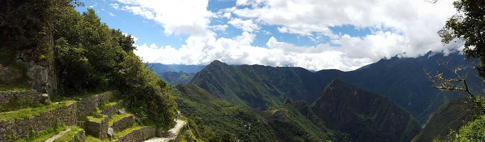 Machupichu, Inca, Mountain, Peru, Andes