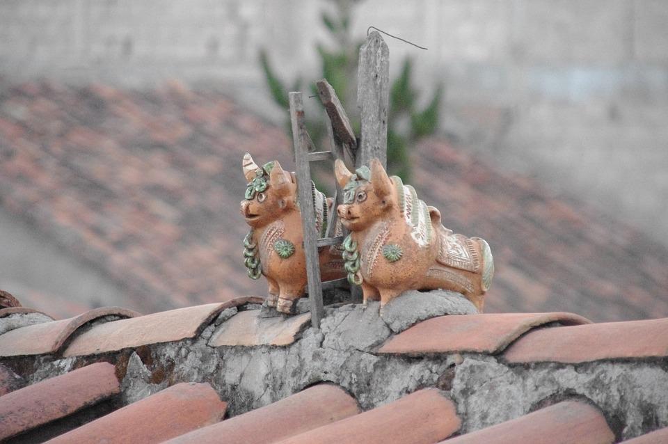 Cusco Peru, Inca Ornaments, Roof Tops, Ornament, Peru