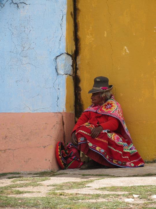 Indigenous, Peru, Woman, Inca, Native, Old, Travel