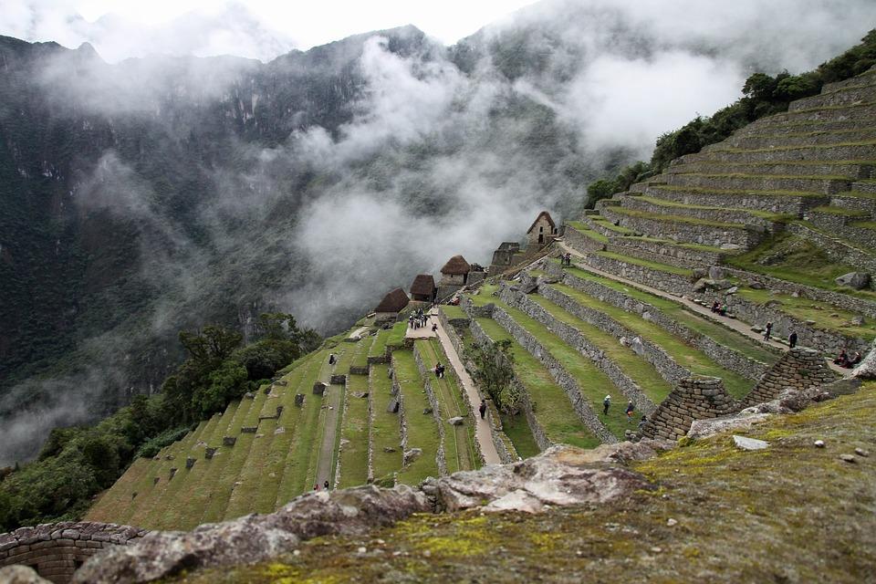 Machu, Picchu, Peru, Inca, Ancient, Andes, Landmark