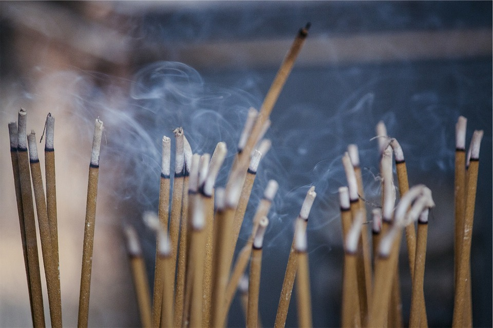 Incense, Scent, Smoke