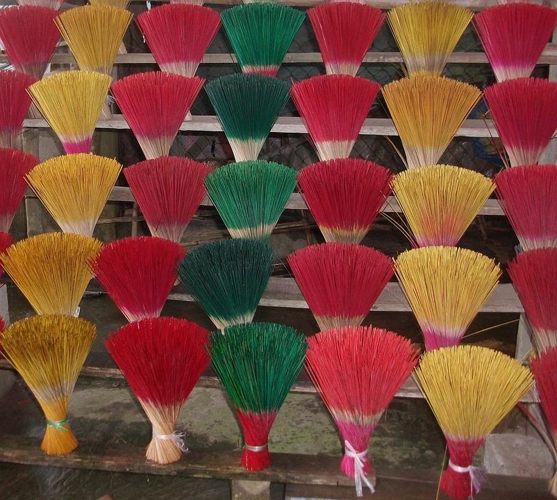 Incense, Joss Stick, Vietnam, Temple, Asian, Religious