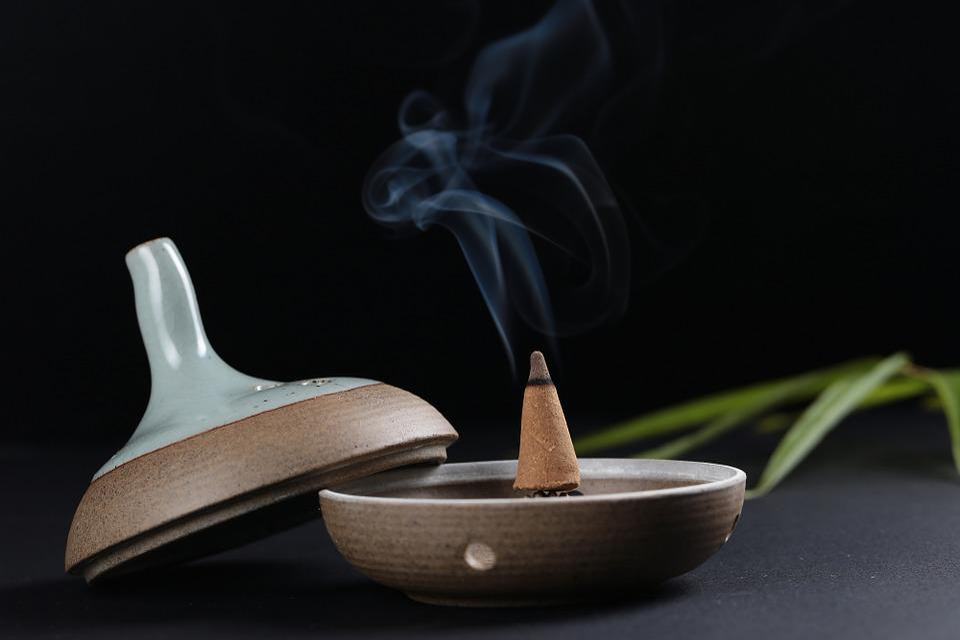 Incense, Traditional, Smoke, China, Zen, Meditation
