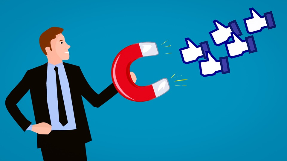 Increase, Like, Button, Sign, Web, Social, Internet