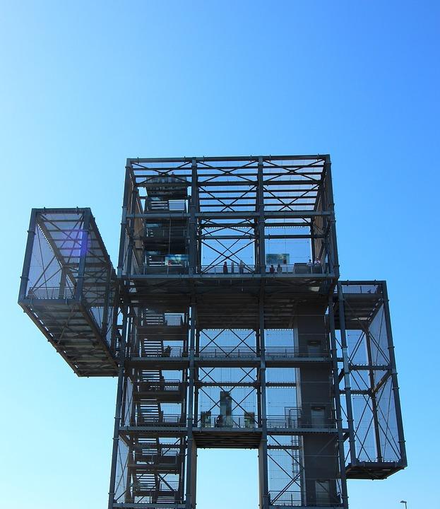 Indemann, Observation Tower, Open Pit Mining