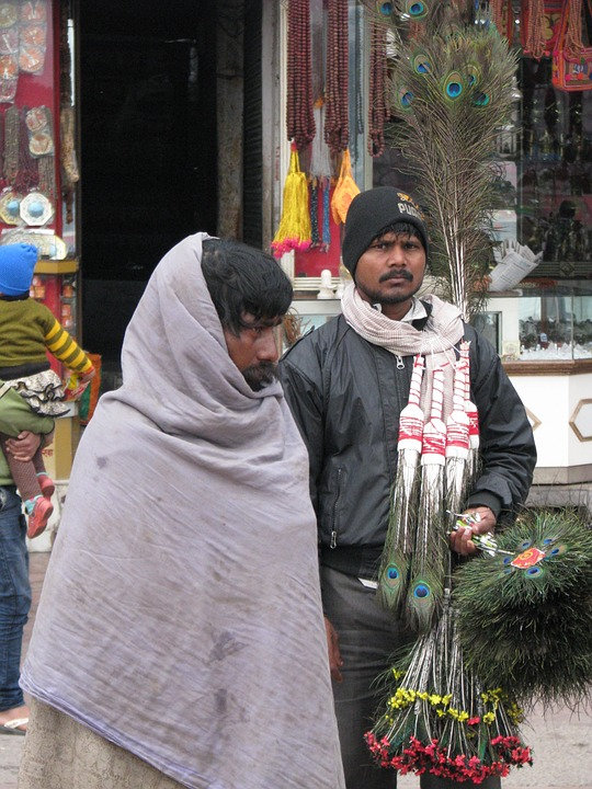 India, Seller, Asian, Ethnic