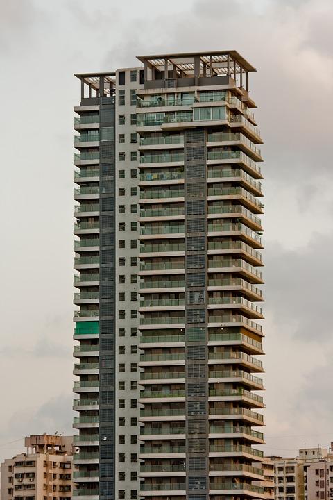 Building, Tall, Hotel, Mumbai, India