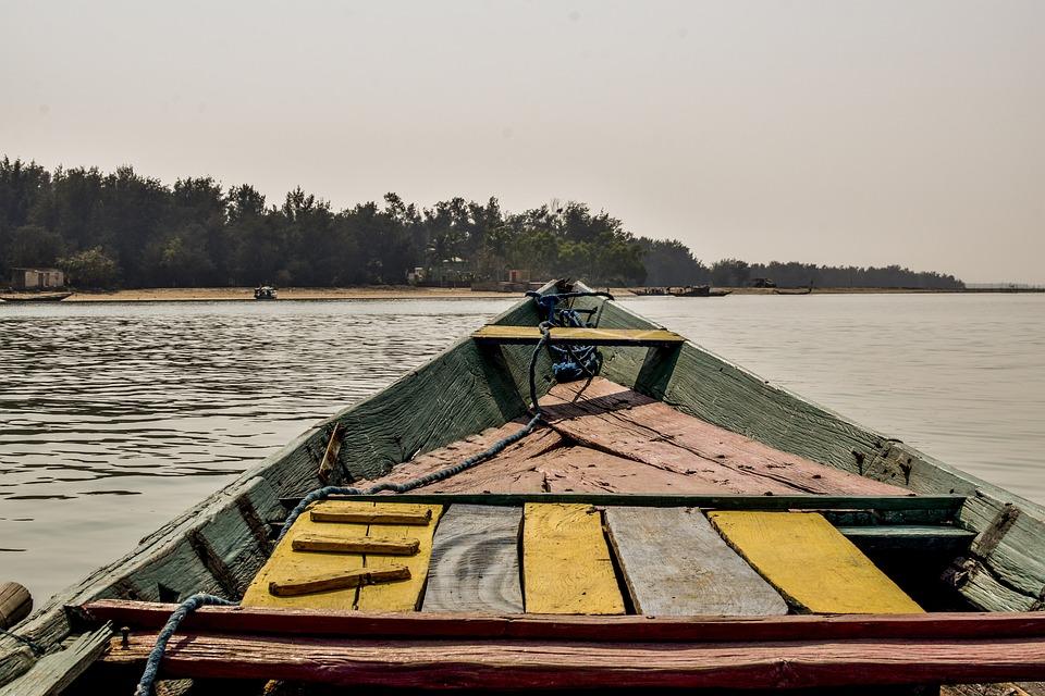 Chilika Lake, Odisha, India, Lake, Boat, Travel