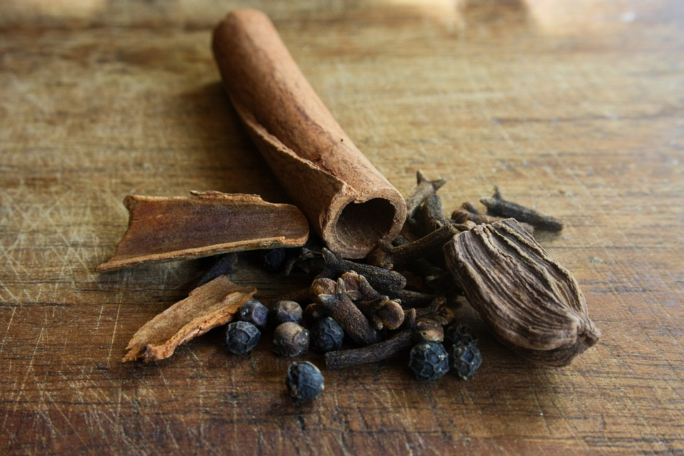 Spices, India, Exotic, Food, Cinnamon, Masala, Curry