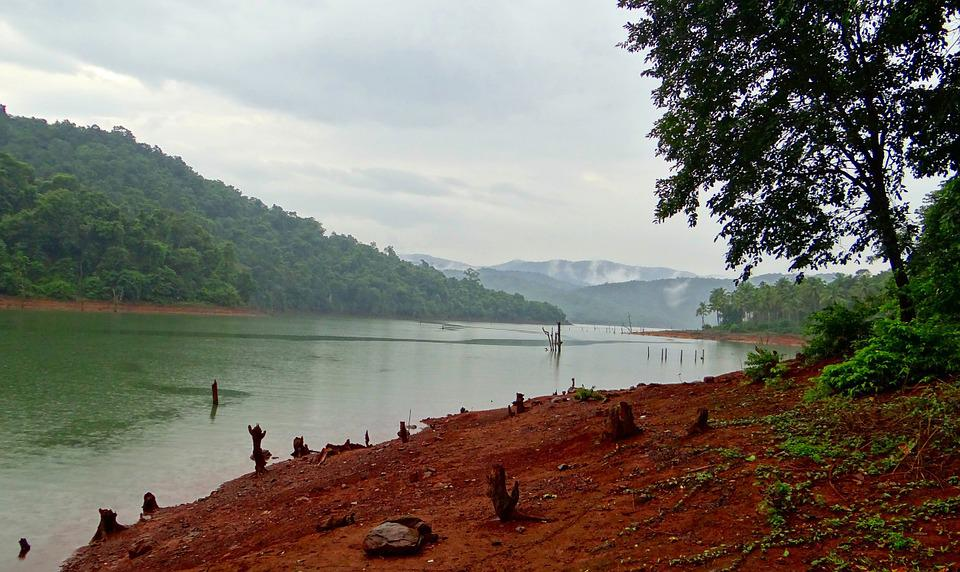 Kali River, Western Ghats, Forests, India, Landscape
