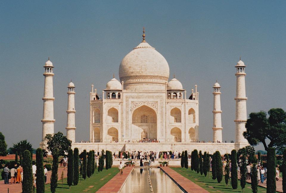 Taj Mahal, Mausoleum, Landmark, India, Beautiful