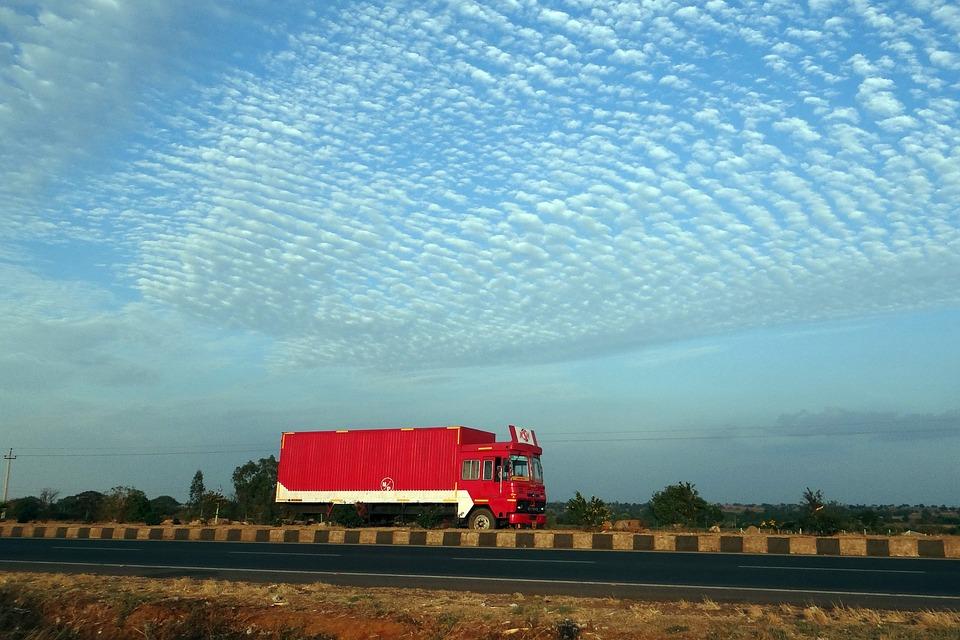 Road, Truck, India, Car, Automobile, Motor, Automotive