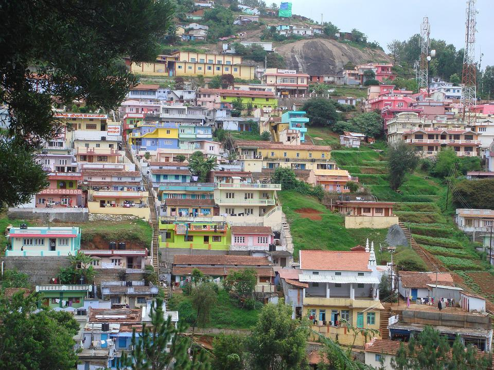 Ooty, India, Mountains
