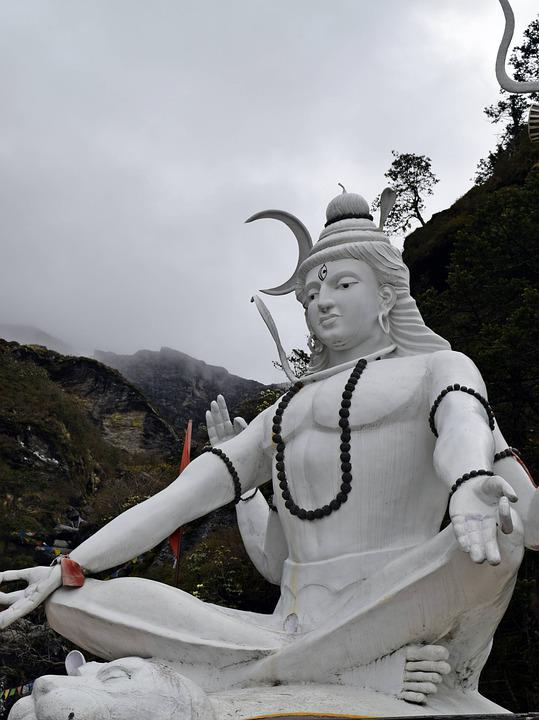 Hindu, Shiva, Hinduism, India, Statue, Religion, God