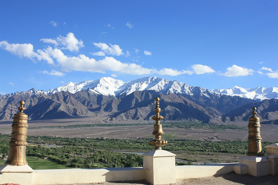 Nubra, Monastery, Buddhism, India, Ladakh, Temple