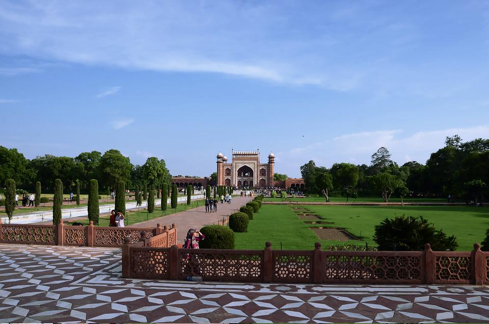 The Taj Mahal, India, Tourism