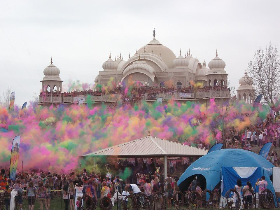 Holi, Indian, Color, Traditional, Asia, Colors
