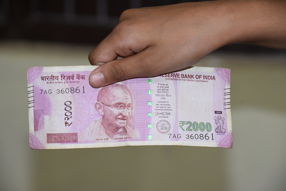 Note, Indian, Rupees, Currency, Cash, Money, Wealth