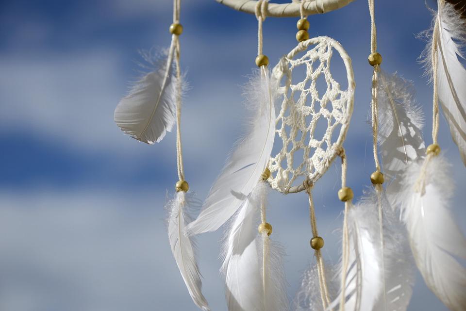 Dream Catcher, Dreamcatcher, Feather, Dreams, Indian