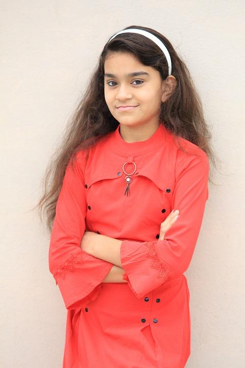 Indian Girl, Happy Girl, Smile, Female, Face, Model