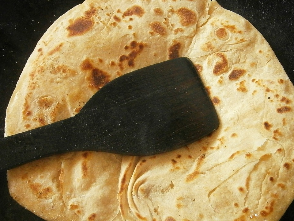 Chapati, Bread, Indian, Pancakes, Food, Traditional