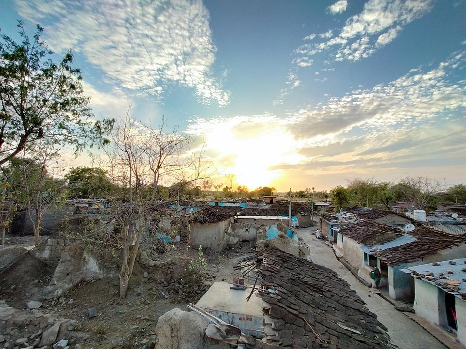 Indian Village, Soil Houses, Soil Home Village