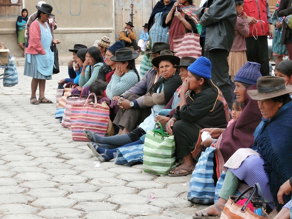 Indian Women, Indio Market, Bolivia