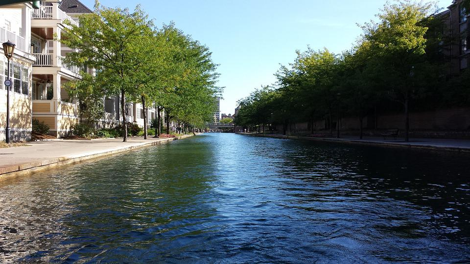 Indianapolis, Downtown, Canal