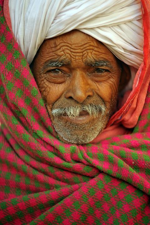 Indian, Man, Hindu, Portrait, India, Indians, Face