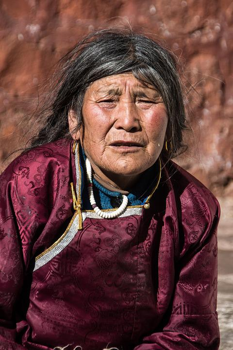 Woman, Tibet, Indigenous