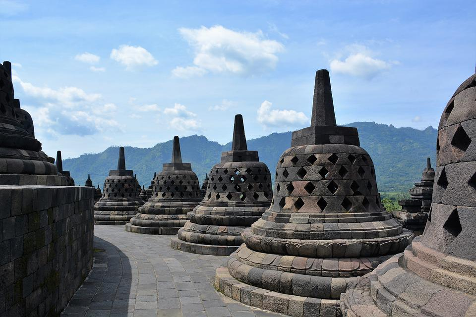 Borobudur, Indonesia, Culture, Temple, Ancient Times