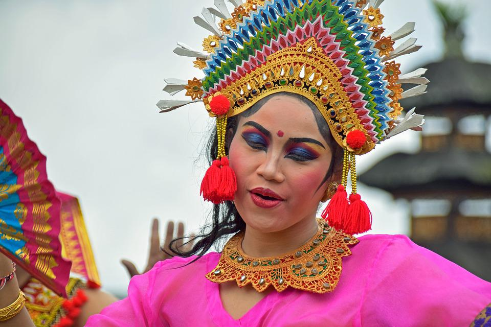 Bali, Indonesia, Travel, Temple, Temple Dancer, Dancer