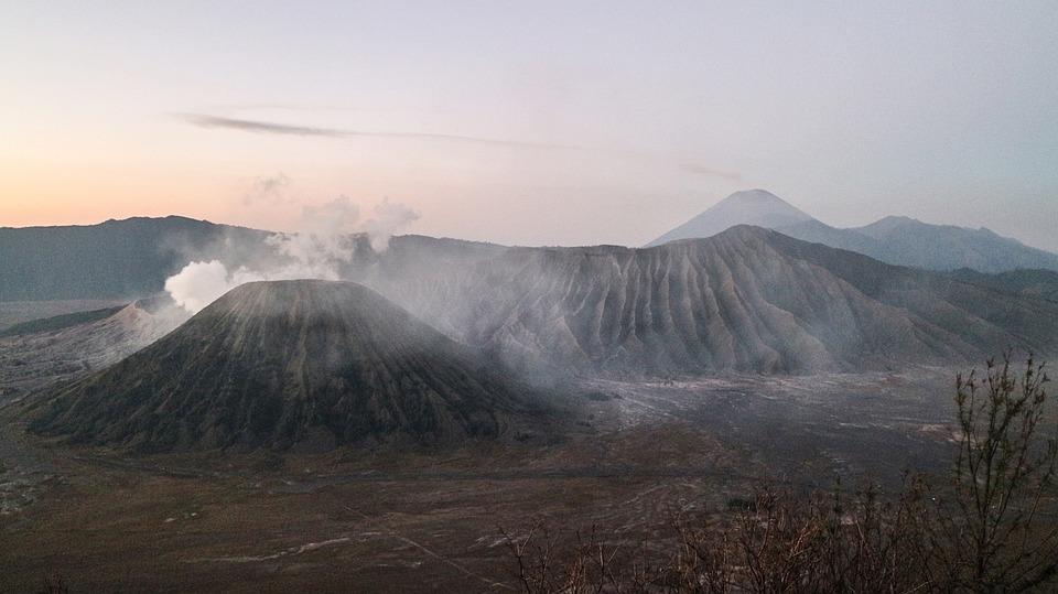 Bromo, Mountain, Indonesia, Nature, Landscape, Java