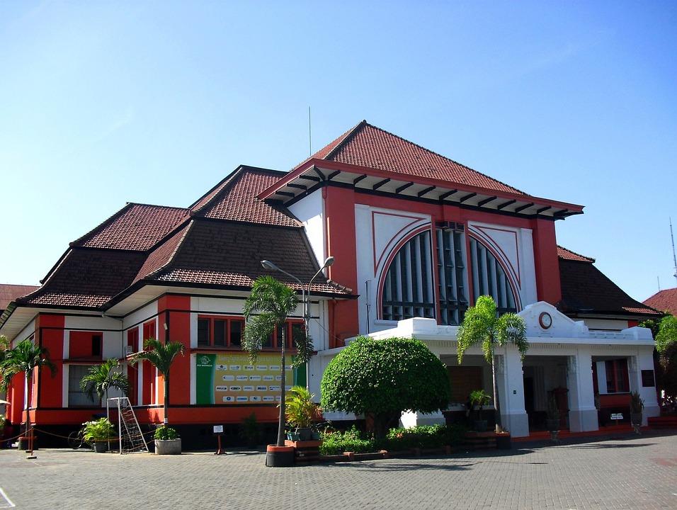 Kantor Pos, Surabaya, Jawa Timur, Indonesia, Asian