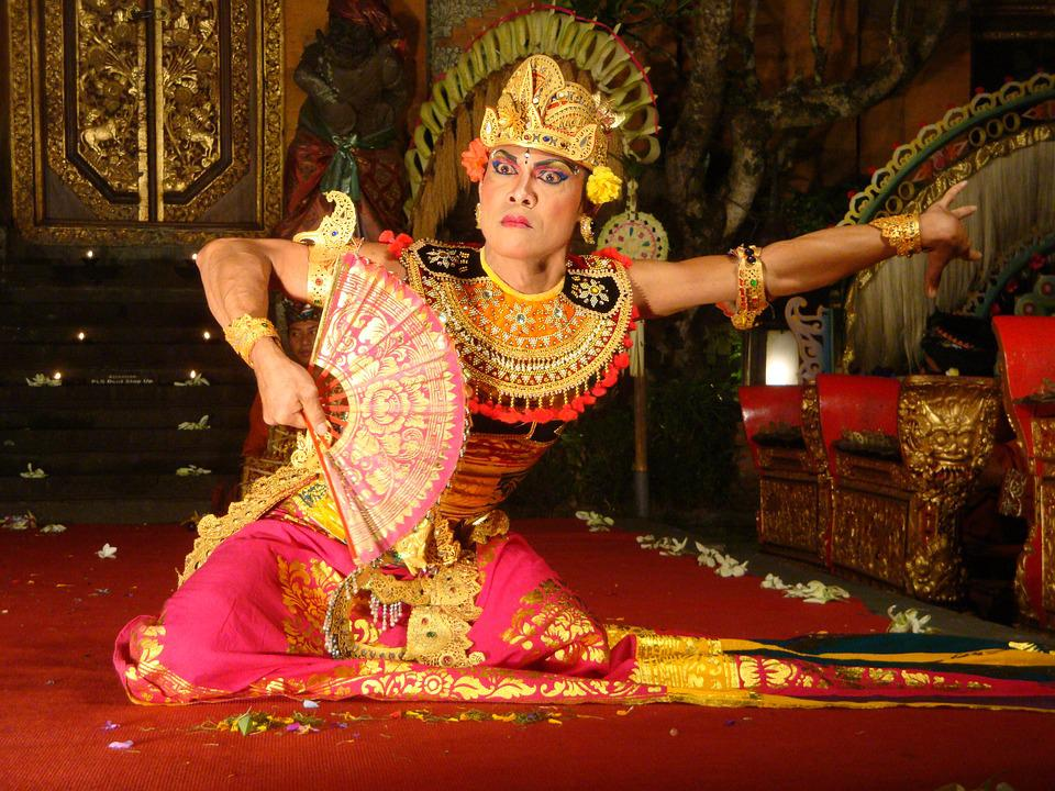 Bali, Art, Temple, Indonesia, Dance, Man, Human