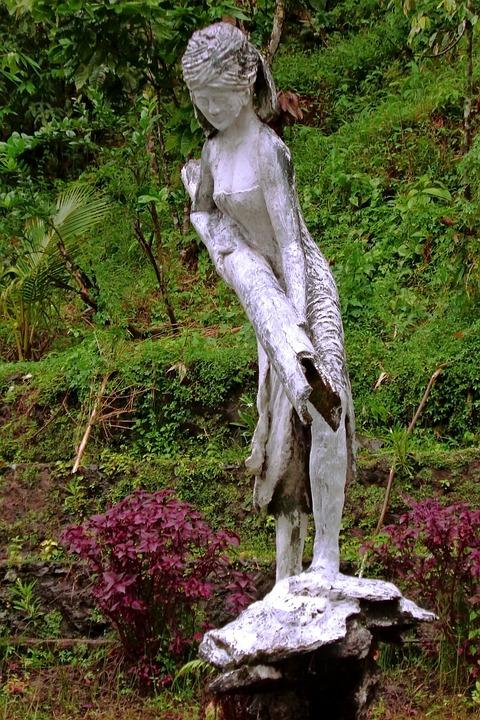 Minangkabau, Indonesia, Statue, Stonework, Stone