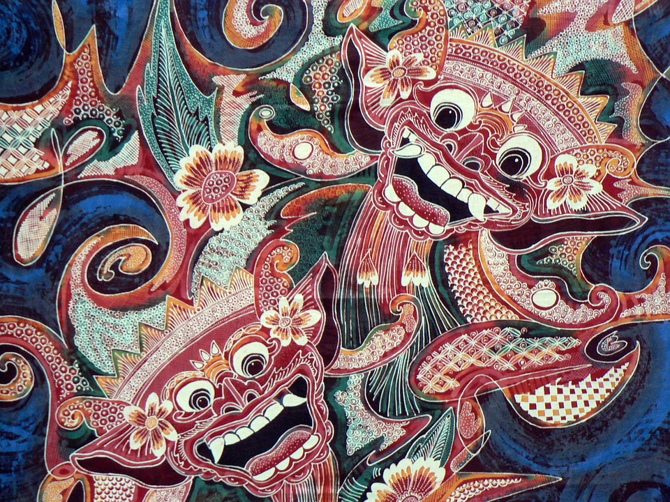 Indonesia Bali Batik Fabric Printing Reasons