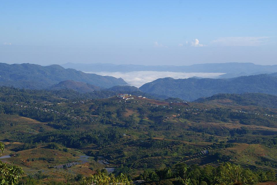 Asia, Indonesia, Flores, View, Mountains, Hill, Air