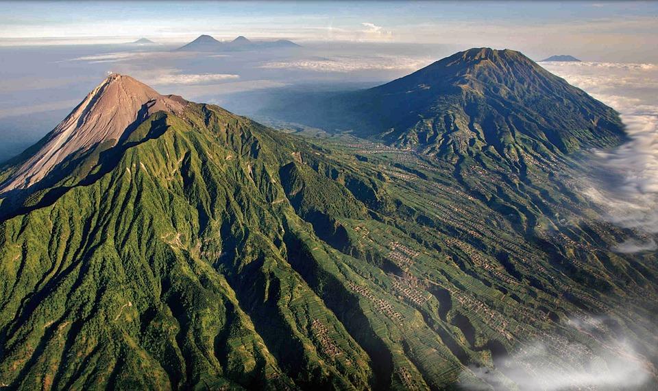 Mount Merapi, Volcano, Indonesia, Lava, Volcanic