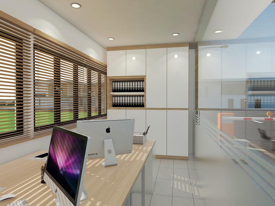 Indoors, Window, Contemporary, Trading Floor, Room
