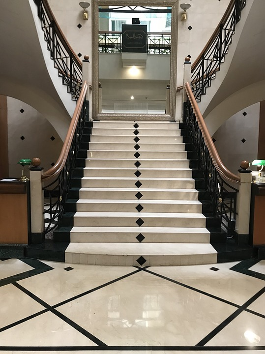 Step, Indoors, Inside, Handrail, Ceiling