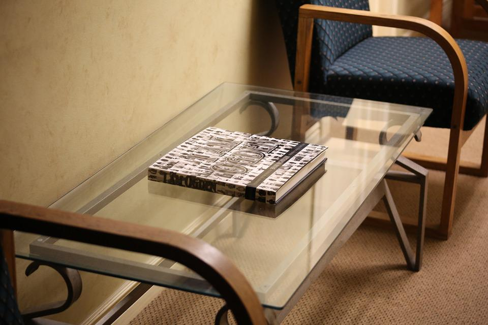 Glass, Table, Office, Indoors, Furniture, Book