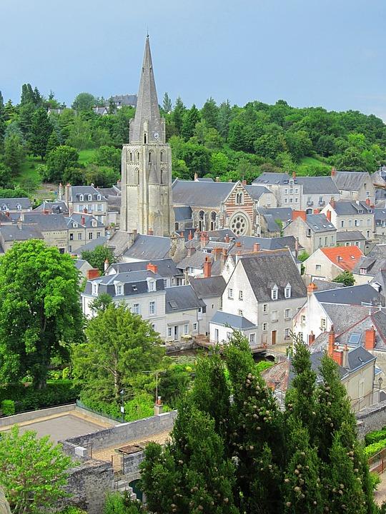 Langeais, Town, Church, Medieval, Indre-et-loire